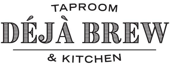 Deja Brew logo scroll