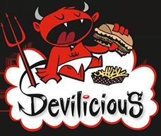 Devilicious Eatery logo top