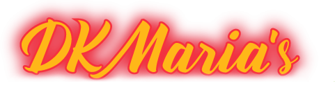 DK Maria's Legendary Tex-Mex logo scroll