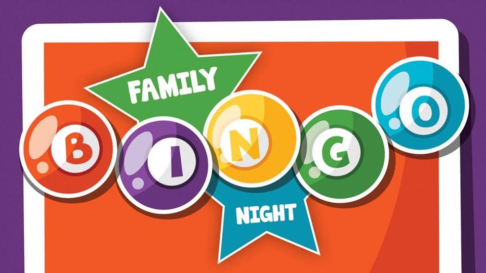 family night bingo photo