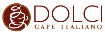 Dolci Cafe Italiano logo scroll