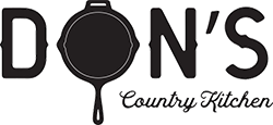Don's Country Kitchen logo scroll
