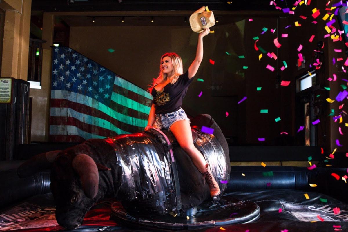 Bull rides photo 2