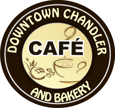 Downtown Chandler Cafe & Bakery logo scroll