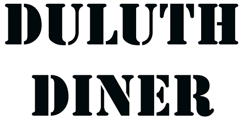 Duluth Diner logo scroll