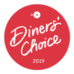 Opentable best dinner choice 2019 badge