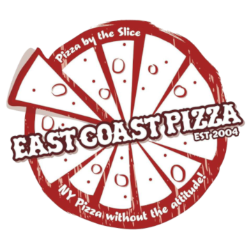 East Coast Pizza logo scroll