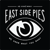 East Side Pies logo scroll