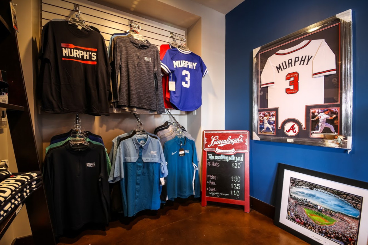 Restaurant products, baseball shirts