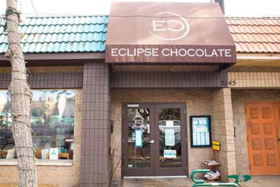 Eclipse Chocolate restaurant exterior