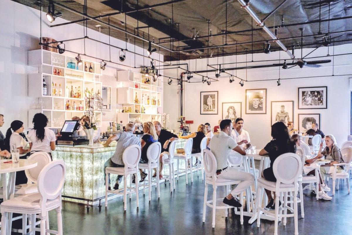 interior, guests sitting and enjoying