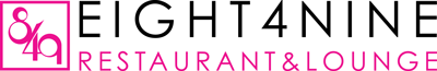Eight4Nine Restaurant & Lounge logo top