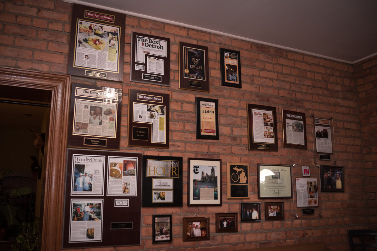 Interior, picture wall