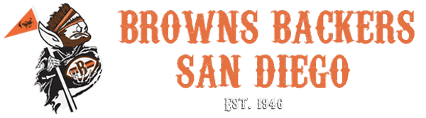 San Diego Browns Backers logo