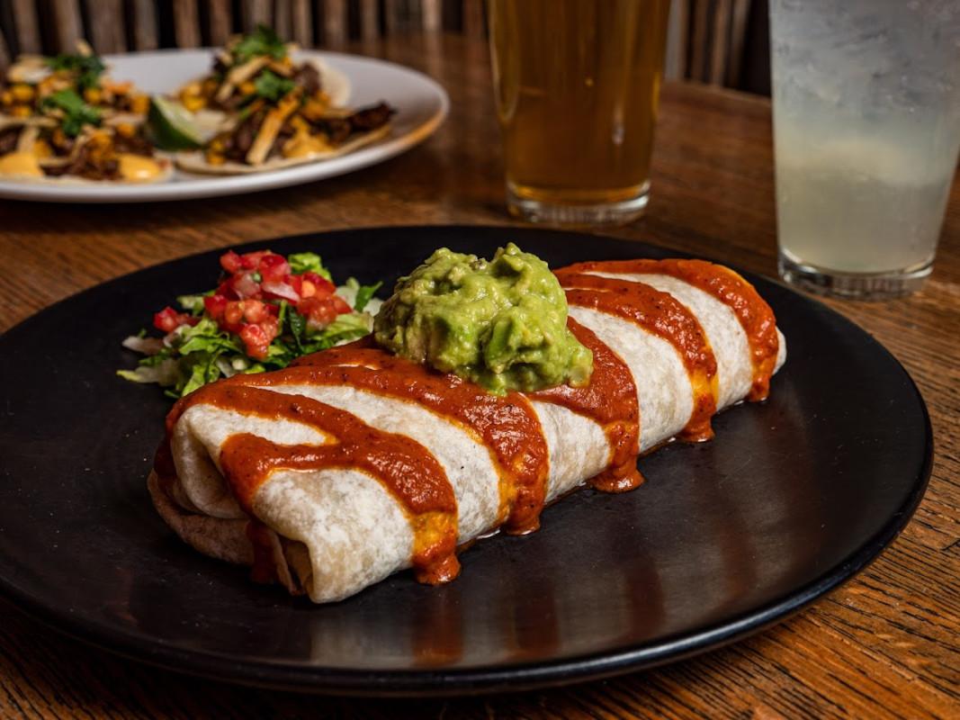 Cheesesteak Burrito
