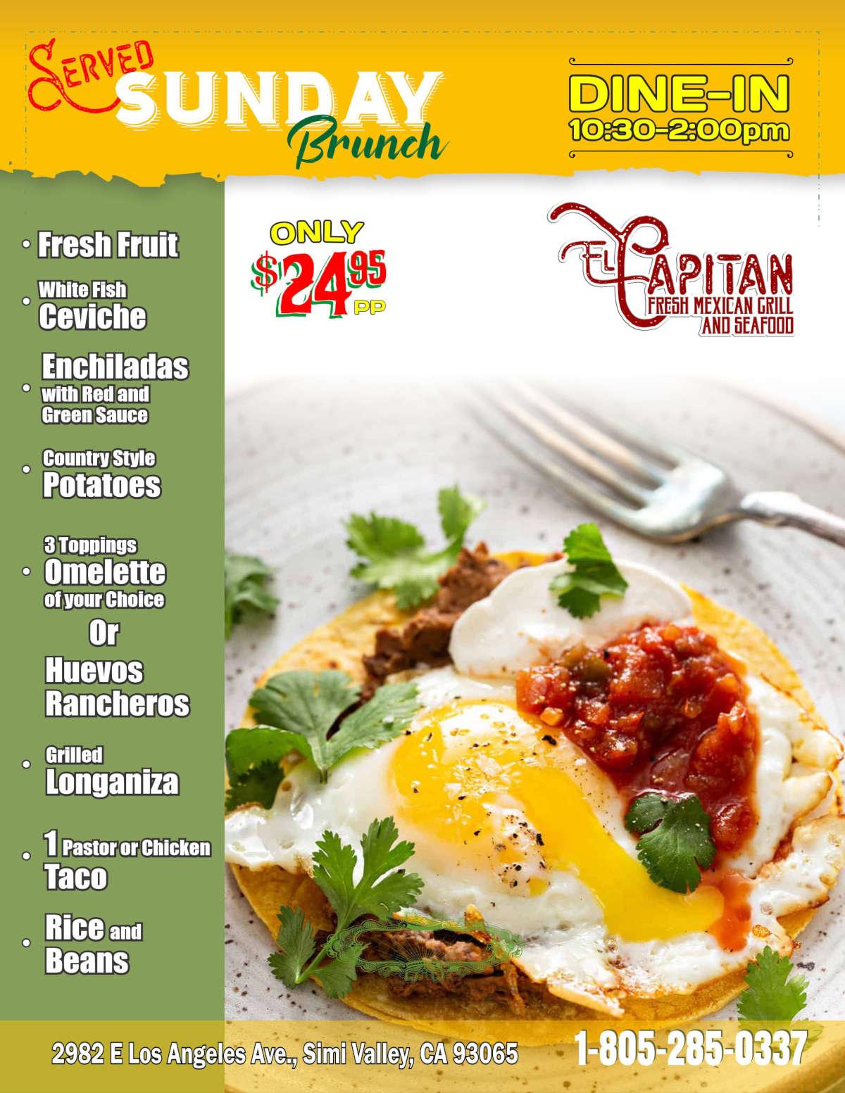 sunday brunch menu_ flyer