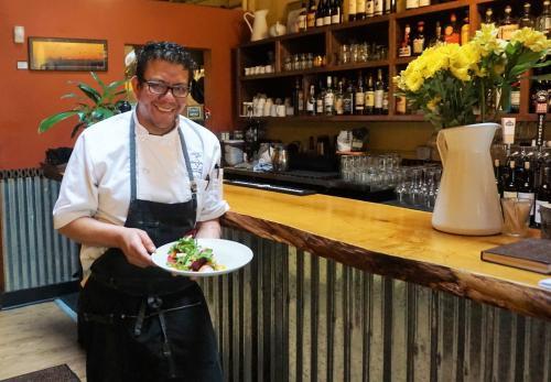 Chef and owner Elements Restaurant, Miguel Sosa. Photo by Viki Eierdam.