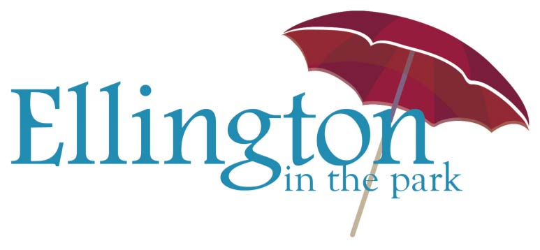 Ellington in the Park logo scroll