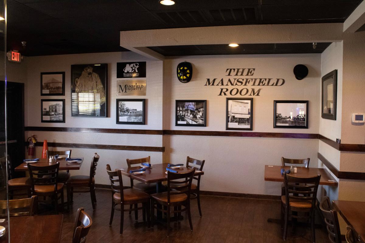Mansfield room interior