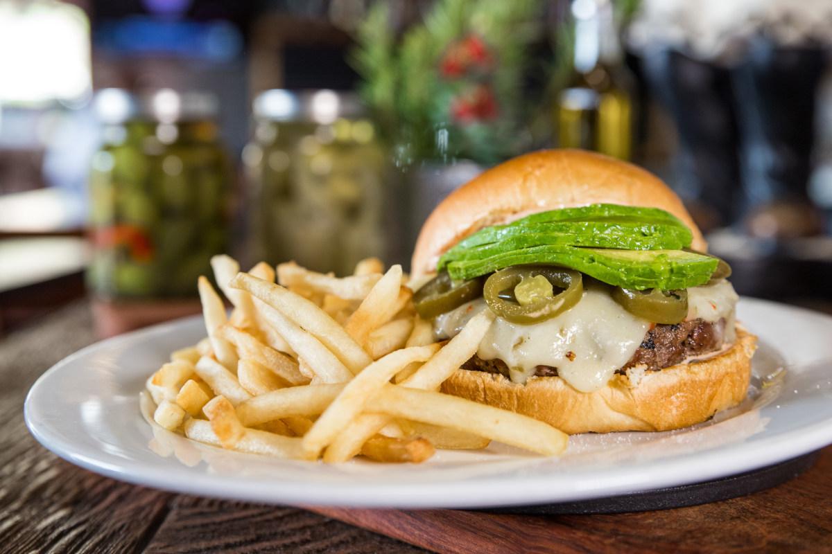avocado jalapegno burger
