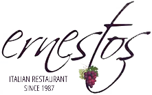 Ernesto's Italian Restaurant logo scroll