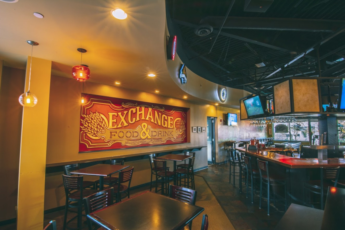 The Exchange Food and Drink bar