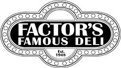 Factor's Famous Deli logo