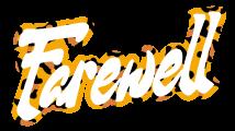 Farewell logo top