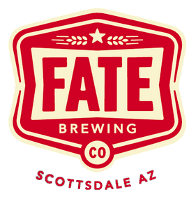 Fate Brewing Company Tempe logo top