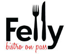 Felly Bistro on Pass logo scroll