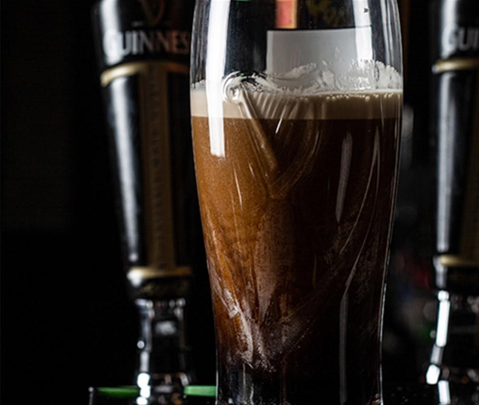 Beer closeup