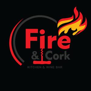 Fire & Cork logo