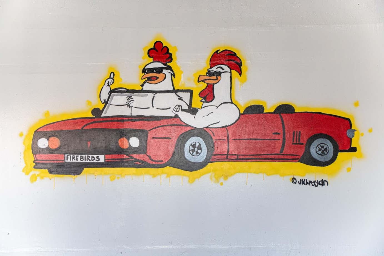 Firebirds Chicken logo