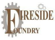 Fireside Foundry logo scroll