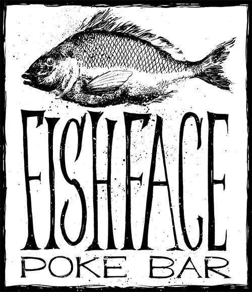 Fish Face Poke Bar logo top