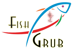 Fish Grub logo top