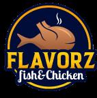 Flavorz FIsh & Chicken logo top