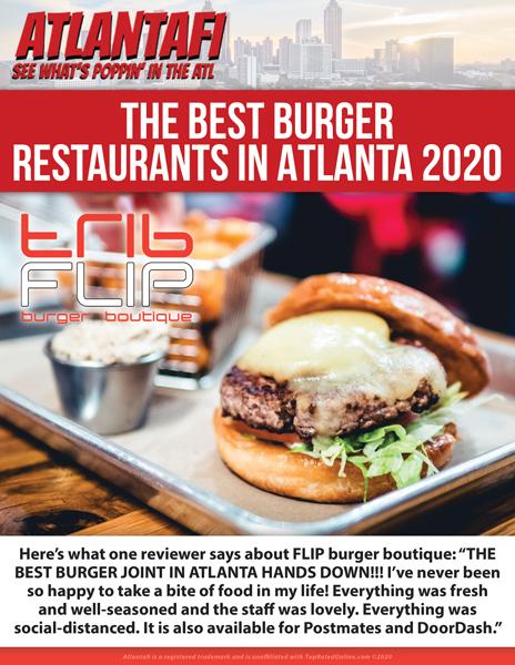 Best burger restaurants in Atlanta 2020