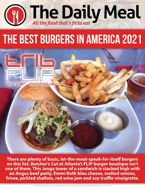 The Daily Meal best burgers in America 2021