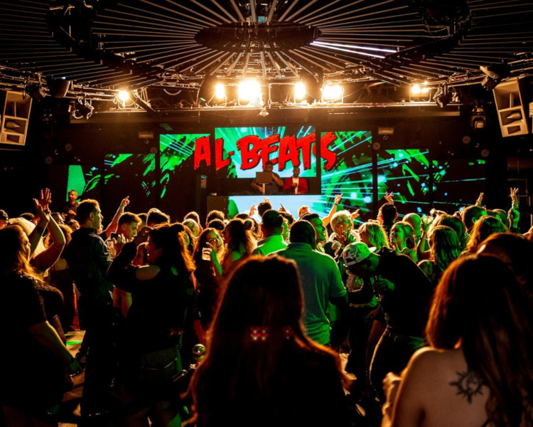 Al beats, night party