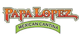 Papa Lopez Mexican Cantina- Frisco logo scroll