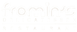 Fromin's Delicatessen & Restaurant logo scroll