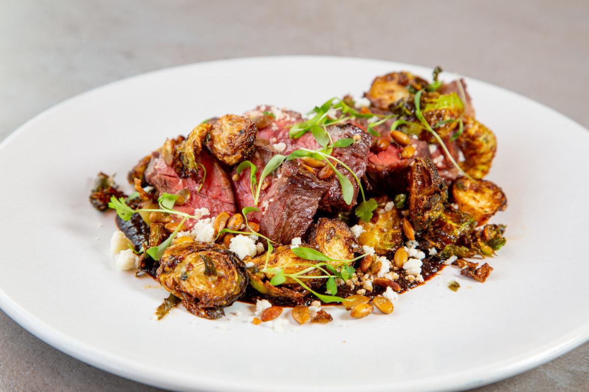 grilled flap steak