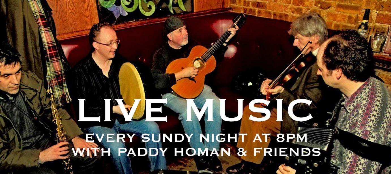 Irish music band