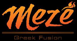 Meze Greek Fusion logo scroll