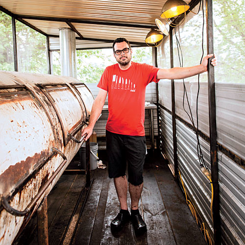 Austin's Aaron Franklin is a modern-day pitmaster.