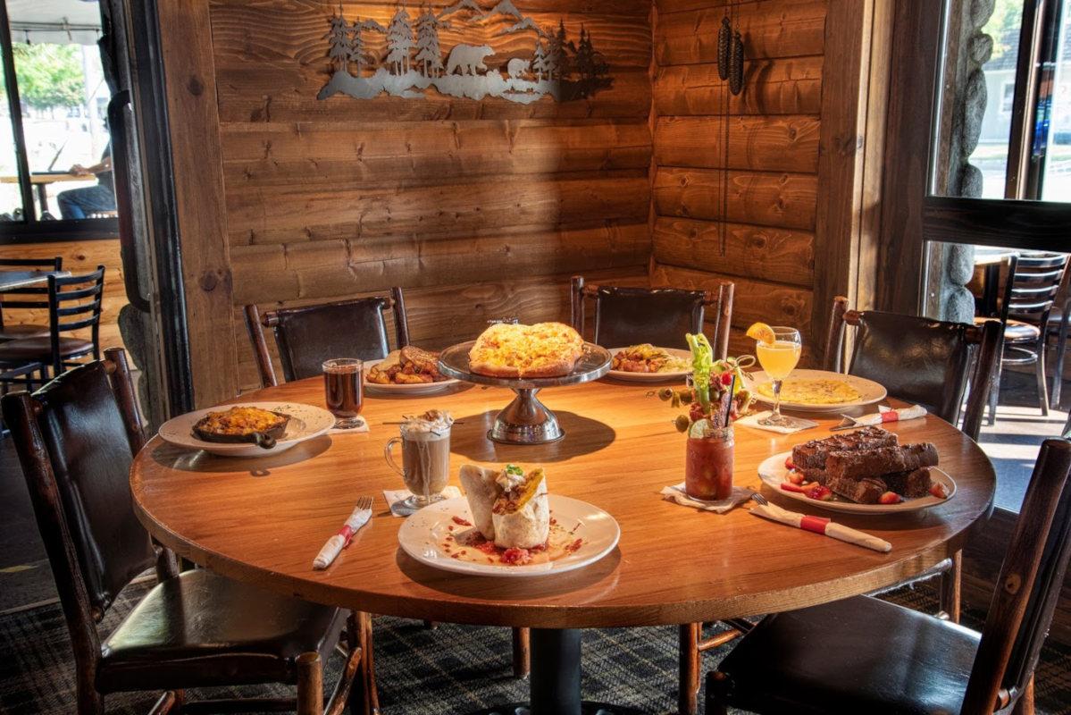 Interior, Assorted Breakfasts