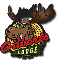 Gilbert's Lodge logo scroll