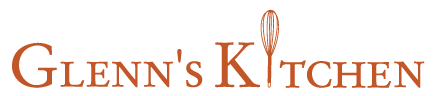 Glenn's Kitchen logo scroll