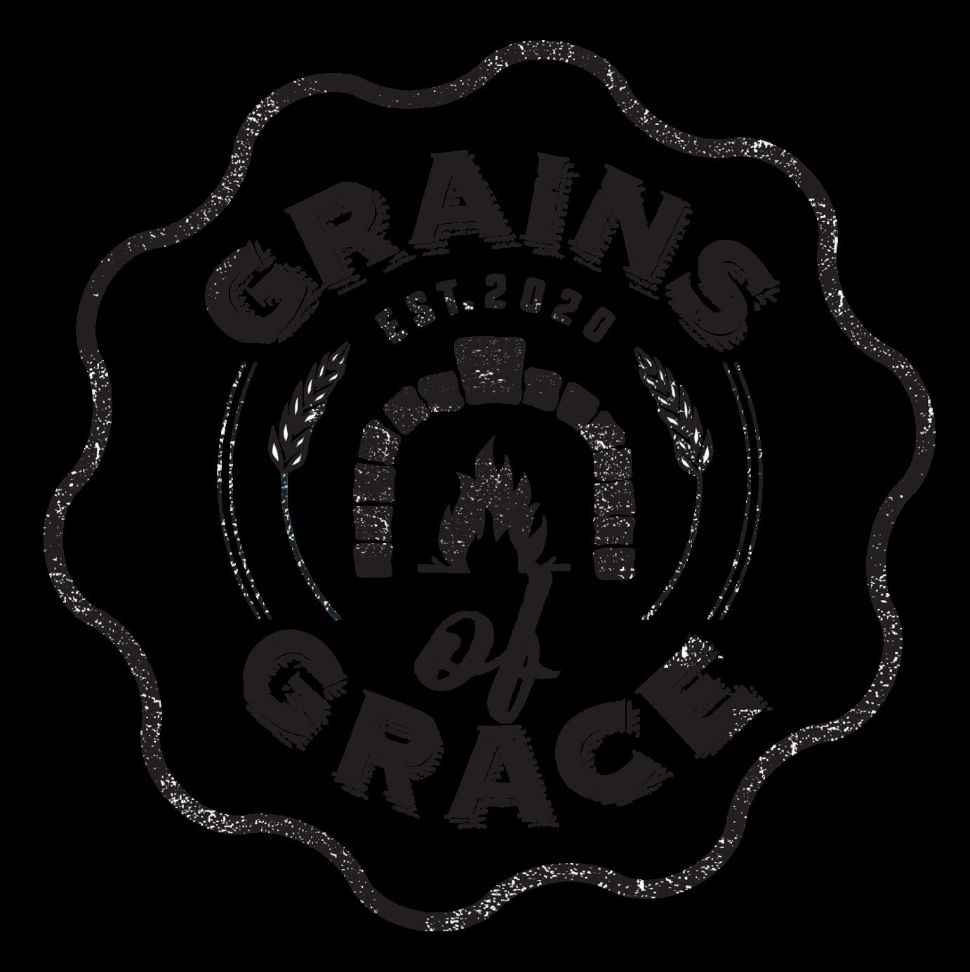 Grains of Grace logo scroll